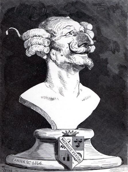 Иллюстрация Гюстава Доре к книге Р. Э. Распе