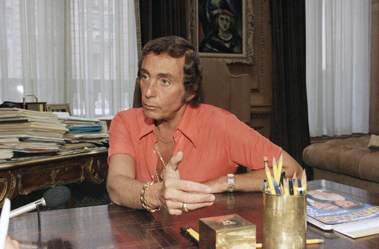 Боб Гуччионе, основатель и издатель журнала «Пентхауз»