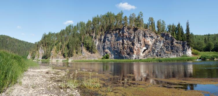 Уральские горы, река Чусовая