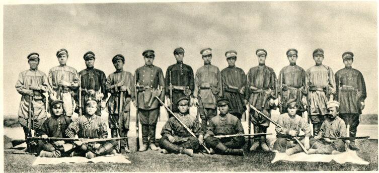 Участники 4-й экспедиции Пржевальского