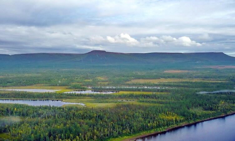 Плато Путорана и река Нижняя Тунгуска