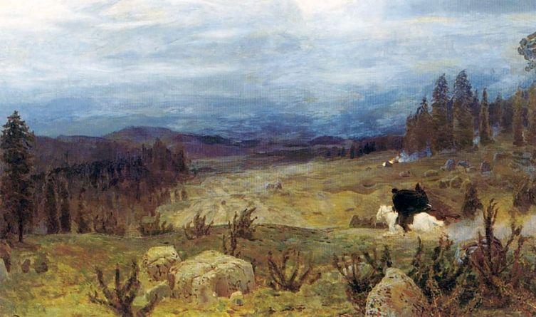 А. М. Васнецов, «Сибирь», 1894 г.