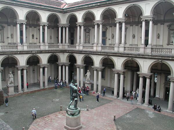 Где в Милане припасть к источнику высокого искусства? Пинакотека «Брера»