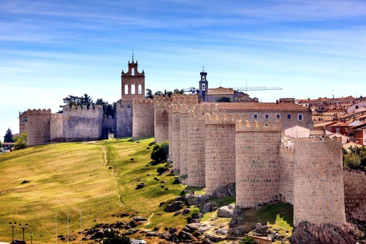 Крепость г. Авилы