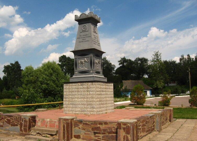 Памятник мамонту в Кулешовке