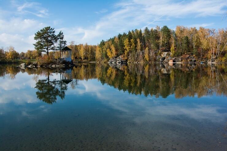 Алтай, озеро Ая