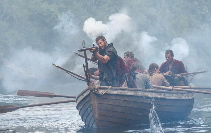 Кадр из сериала «Черные паруса»