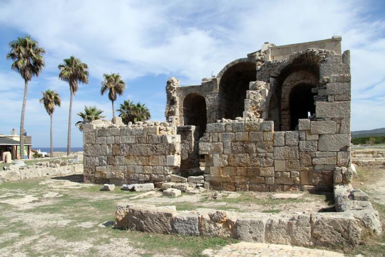 Руины церкви в Северном Кипре