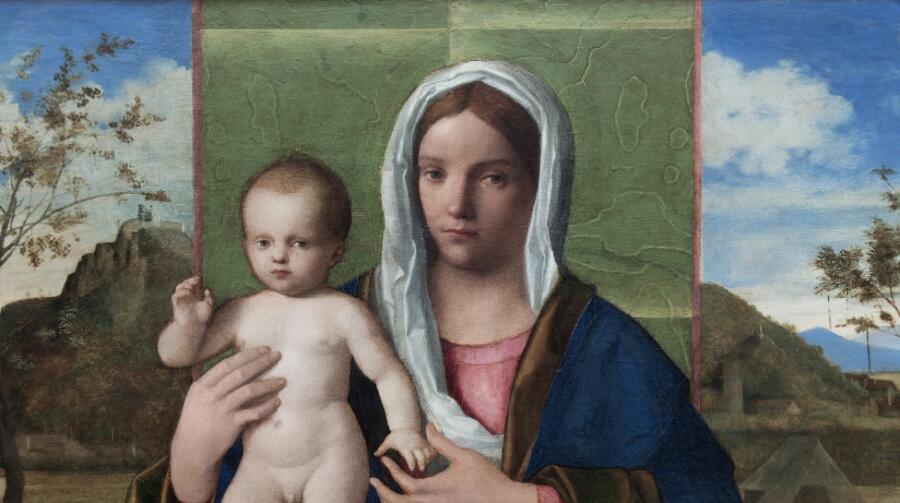 Джованни Беллини «Мадонна с младенцем»
