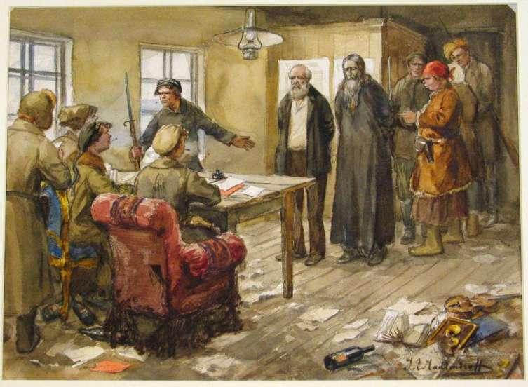 Большевики хотели запретить платки, но оказалось, что заменить их нечем