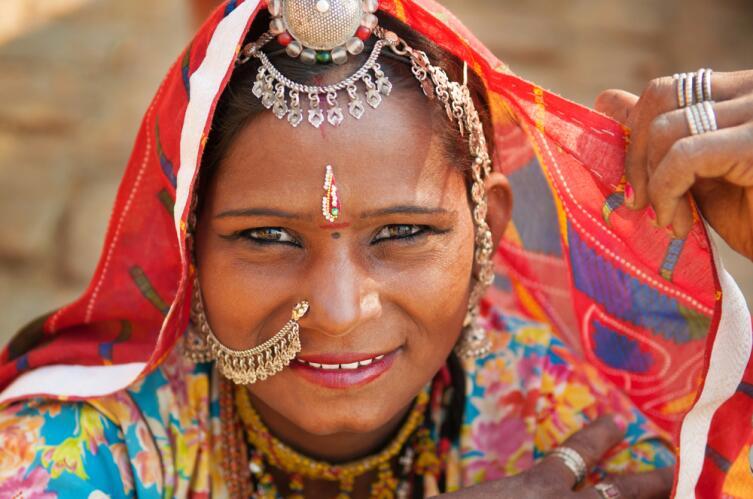 Индианке нужно быть красивой, иначе участь ее незавидна