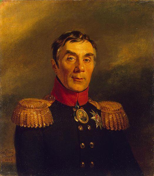 Джордж Доу, Портрет Алексея Андреевича Аракчеева (1769-1834)