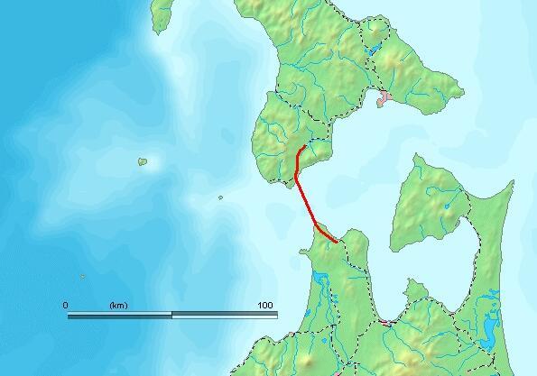 Карта тоннеля Сэйкан
