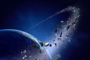 Сколько мусора летает вокруг Земли?