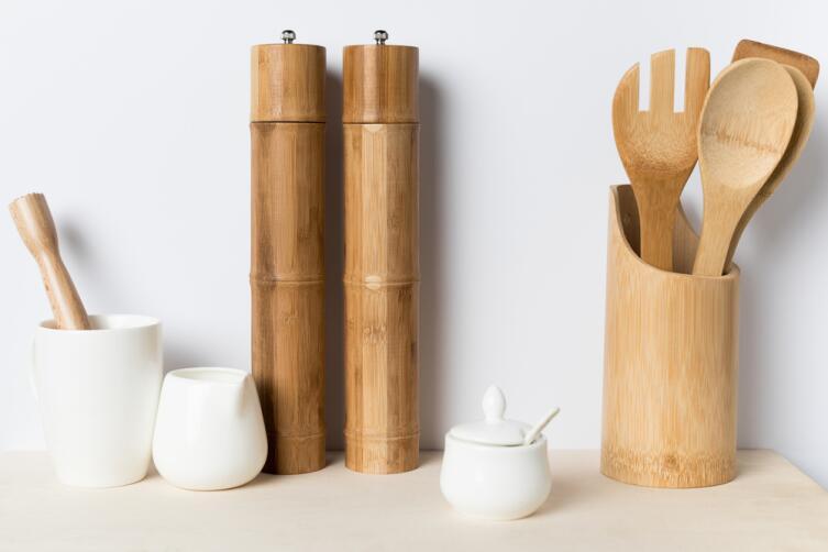 Бамбуковая посуда нам знакома, а вот как насчет еды?