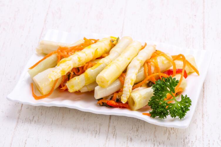 Какие блюда готовят с бамбуком?