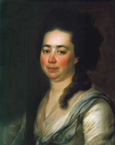Портрет Екатерины Андреевны Бакуниной. 1782 г.