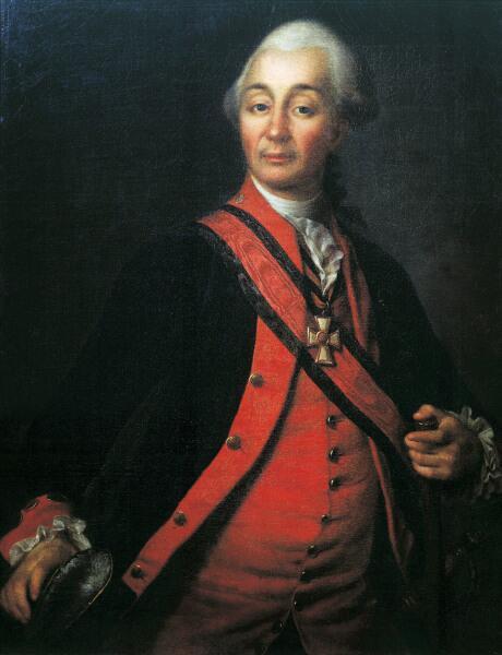 Портрет А. В. Суворова, 1786 г.