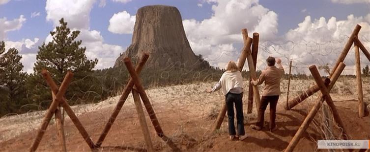 Кадр из фильма «Близкие контакты третьей степени»