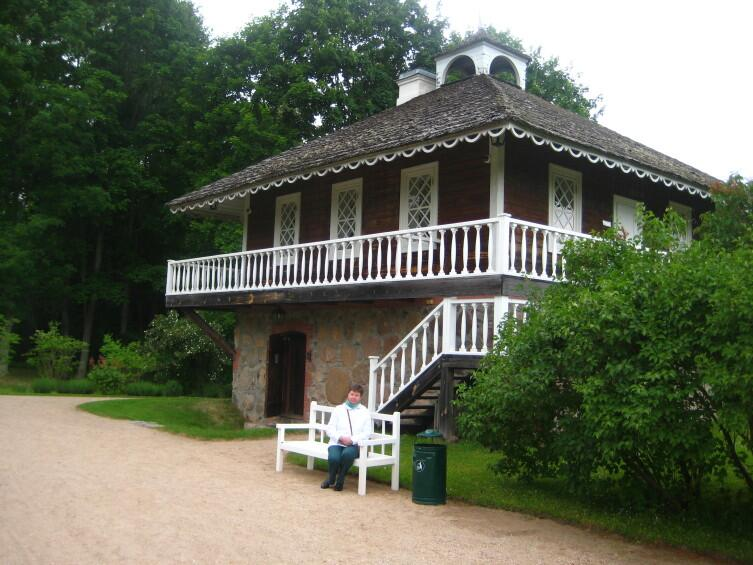 Дом, в котором жил Ганнибал, выйдя в отставку