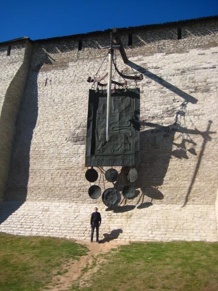 Композиция, посвященная победе Александра Невского в Ледовом побоище