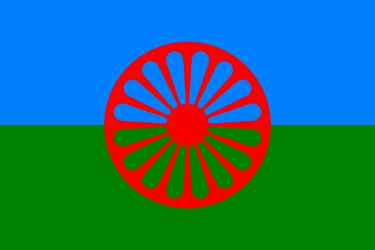 Цыганский флаг