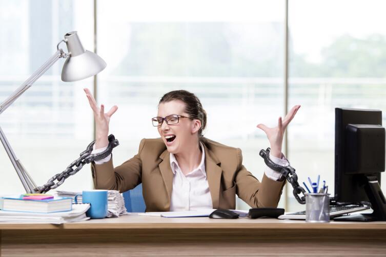 Единственный способ, который заставит трудоголика отдохнуть - нервный срыв, болезнь...