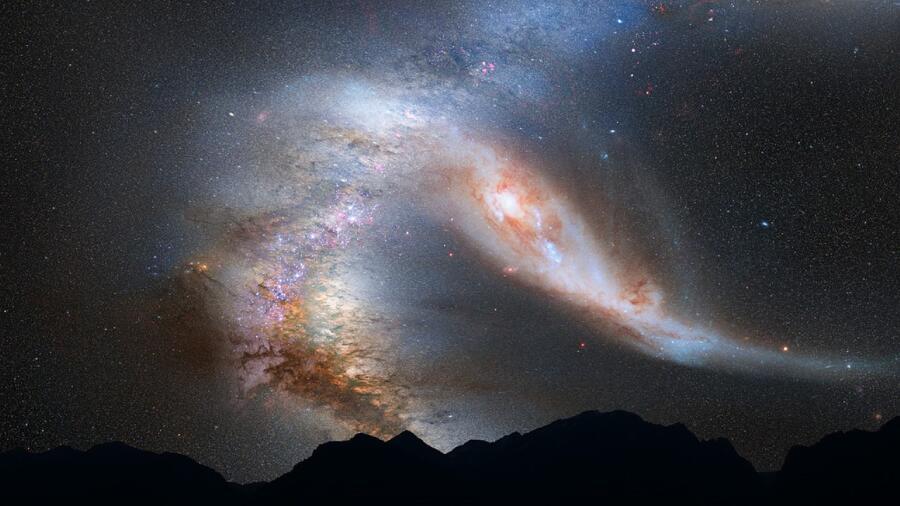 Ученые считают что из антиматерии состоят некоторые галактики