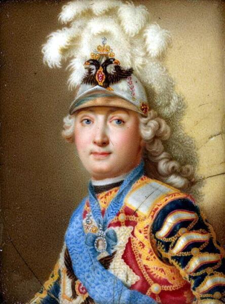 Портрет графа Г. Г. Орлова, худ. А. И. Чёрный