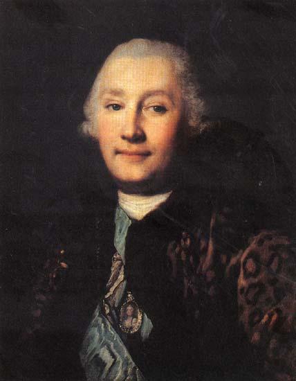 Портрет графа Орлова, худ. Виргилиус Эриксен