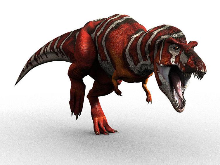 Реконструкция внешнего облика тираннозавра
