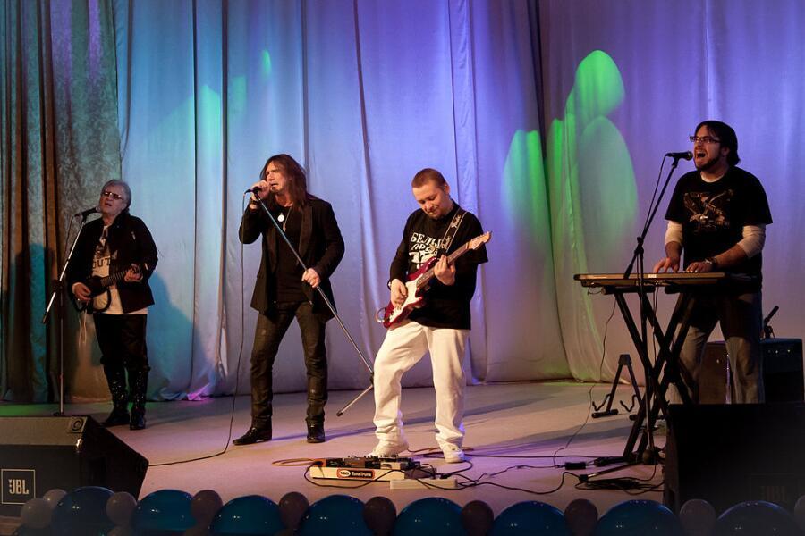 Группа Белый орёл; концерт в Северодвинске