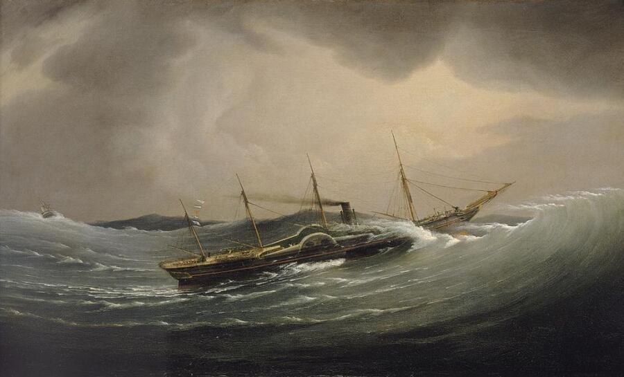 «Грейт Вестерн» сражается со штормом