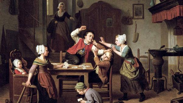 Базиль де Лозе, «Игроки»