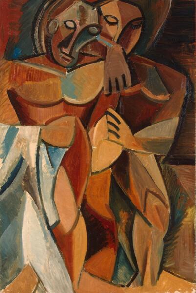 Пабло Пикассо, «Дружба», 1908 г.