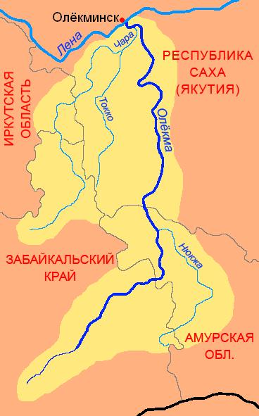 Бассейн Олёкмы