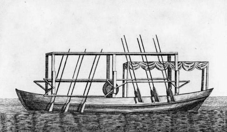 Пароход Фитча 1787 г.
