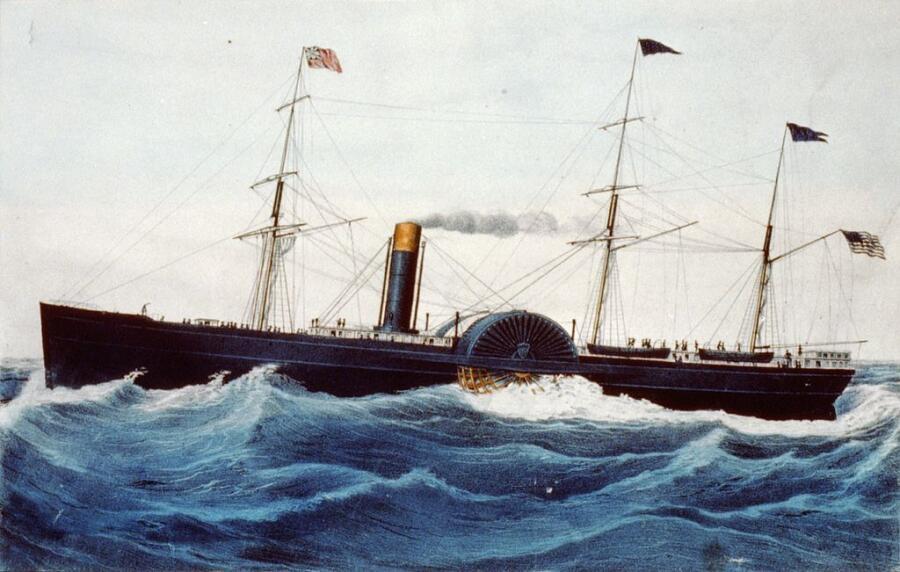 «Балтик», обладатель «Голубой ленты Атлантики»