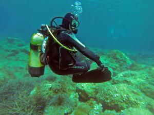 Даже самый опытный инструктор не сможет контролировать под водой сразу десять, а то и пятнадцать новичков – потому, что нельзя видеть сразу пятнадцать пар глаз одновременно.