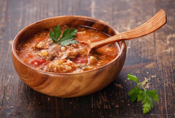 Как заготовить на зиму суп харчо?
