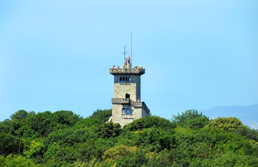 Смотровая башня в Сочи на горе Ахун