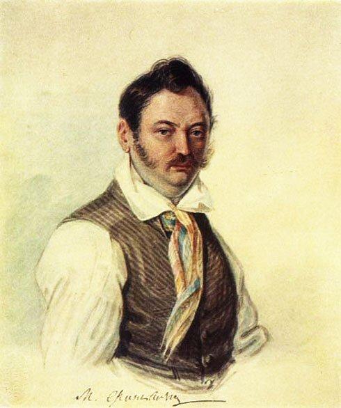 М. А. Фонвизин, художник Н.А. Бестужев