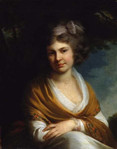 Наталья Суворова, портрет кисти В. Л. Боровиковского, 1795 г.