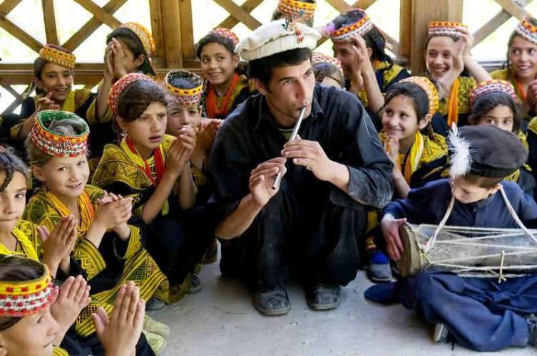 Калаши - народ, не похожий на пакистанцев