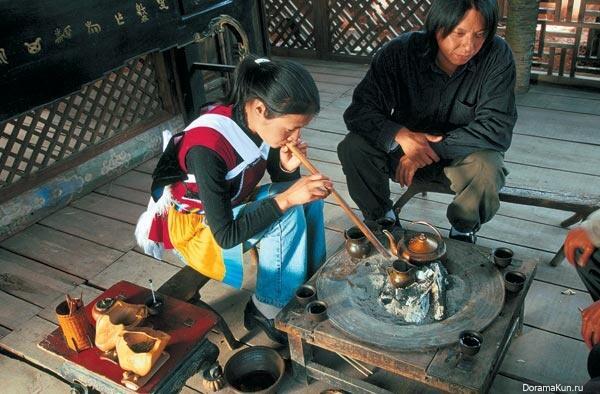 У китайского народа мосо царит матриархат