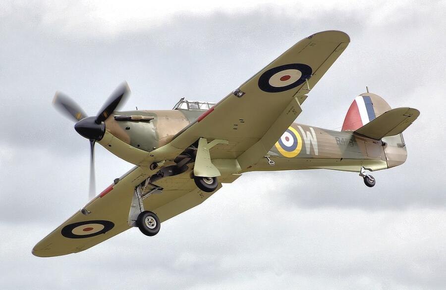 Hurricane Mk1, RAF серия R4118