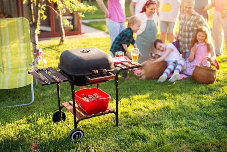 Пикник с соседями - классика американского уикенда