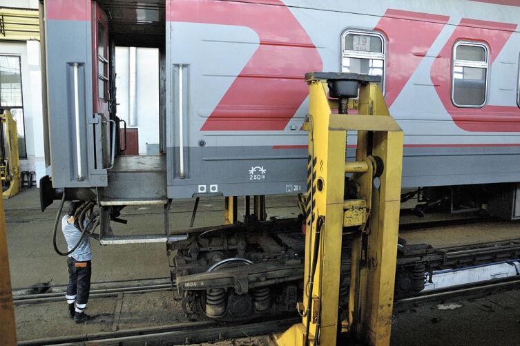 Железнодорожный домкрат УДС-160МА