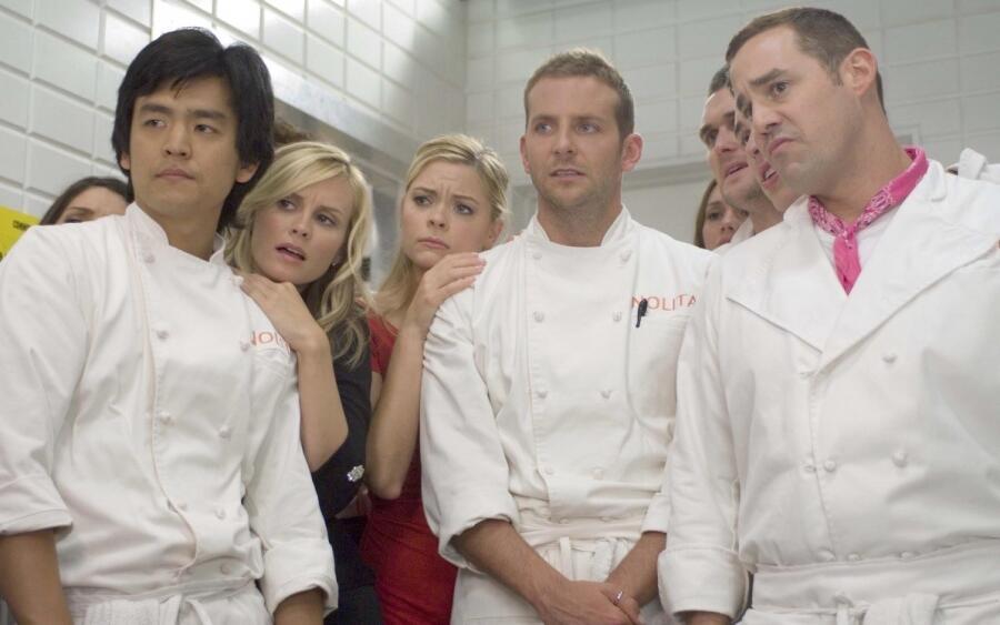 Есть ли сериалы на тему кухни?