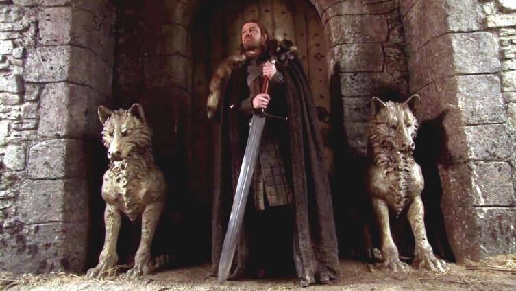 Нед Старк и его меч